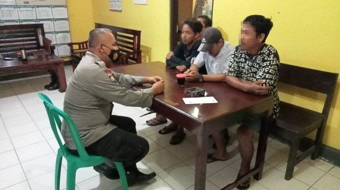 Tepergok Pesta Miras di Lapangan Desa Rajawana Purbalingga, 4 Remaja Digelandang ke Kantor Polisi