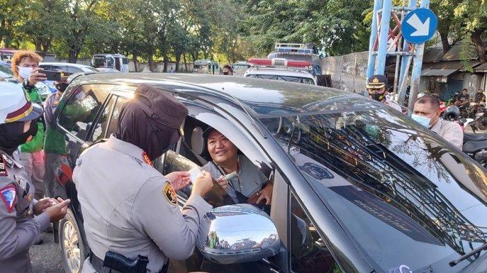 Ketahuan Mudik Gunakan Travel Gelap di Tegal, Pengemudi Didenda Rp 500 Hingga Mobil Disita
