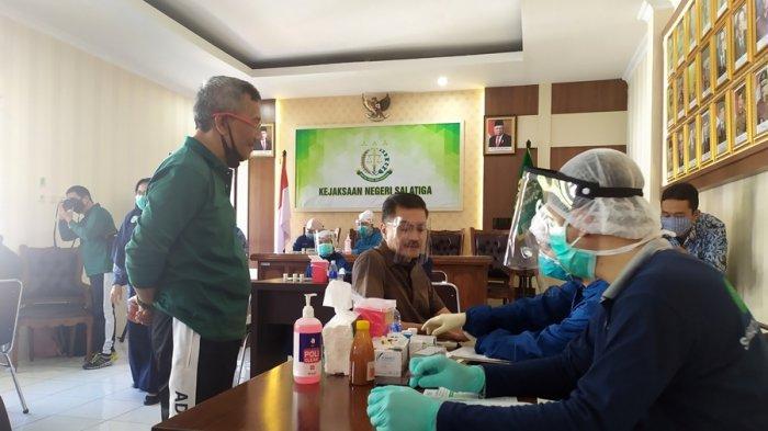 Kejari Salatiga Dirikan Posbindu, Sekaligus Berfungsi Jadi Klinik