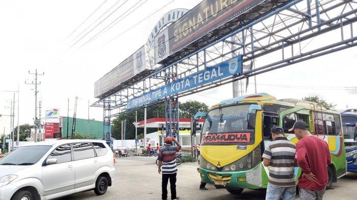 Hampir 10 Ribu Penumpang dari Jabodetabek Tiba di Terminal Kota Tegal, Jelang Larangan Mudik