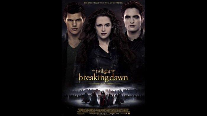 Jadwal Acara TV Hari Ini, Jumat 9 Oktober 2020: Ada Film Twilight Saga Breaking Dawn Part 2