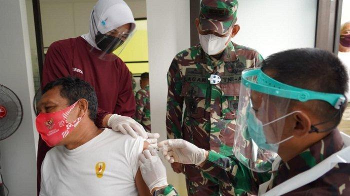 3.600 Prajurit Wijayakusuma Banyumas Jalani Vaksinasi Covid-19, Danrem: Vaksin Aman bagi Prajurit