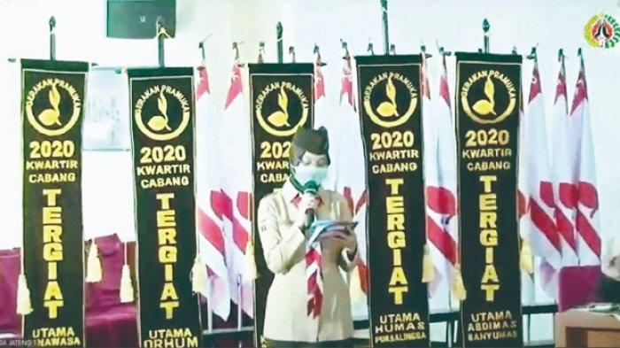 Borong 4 Penghargaan di Tingkat Kwarda Jateng, Bidang Humas Kwarcab Purbalingga Sangat Memuaskan