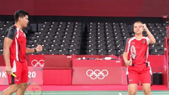 Jadi Runner Up Grup C, Praveen/Melati Melaju ke Perempat Final Bulu Tangkis di Olimpiade Tokyo