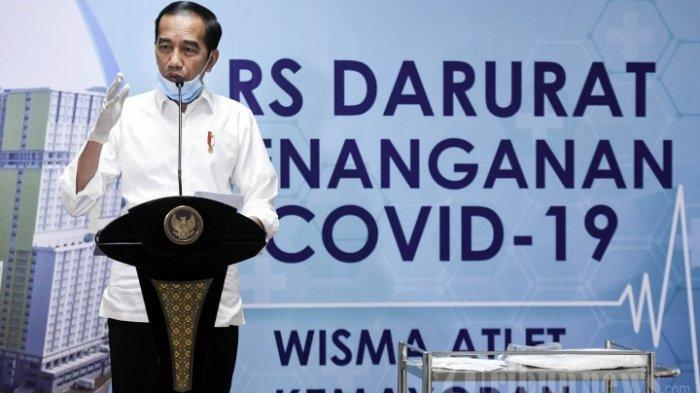 Soal Keinginan DPR, Jokowi: Rapid Test Diprioritaskan untuk Paramedis, ODP dan PDP Virus Corona