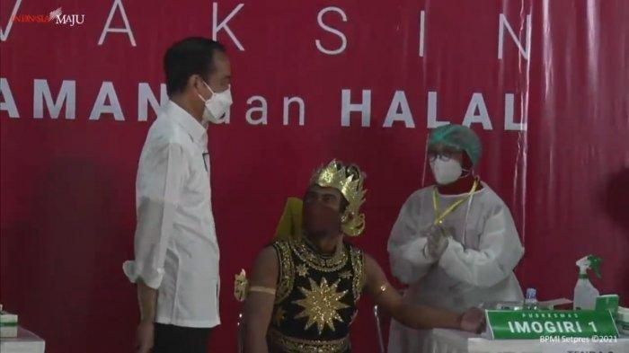 Giliran Seniman dan Budayawan di Yogyakarta Terima Vaksinasi Covid-19