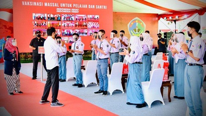 72 Siswa SMA Negeri 2 Cilacap Positif Covid, Jalani Tes Antigen saat Kunjungan Presiden Jokowi