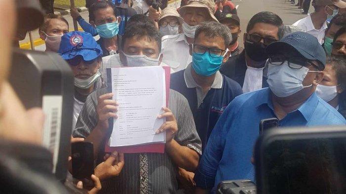 UU Cipta Kerja Diteken Presiden, Buruh Langsung Ajukan Uji Materi ke MK
