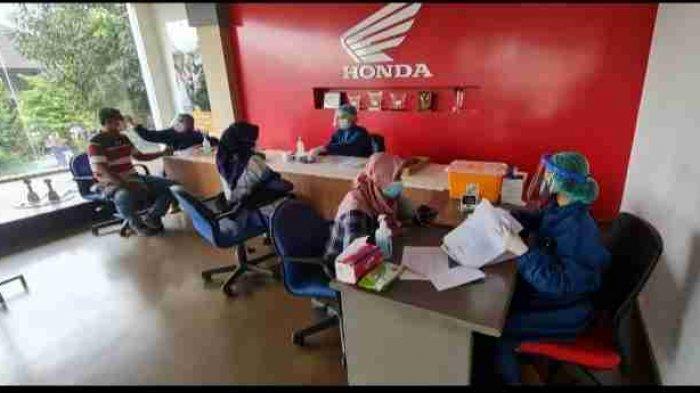 Astra Group Yogyakarta Vaksinasi Keluarga Karyawan