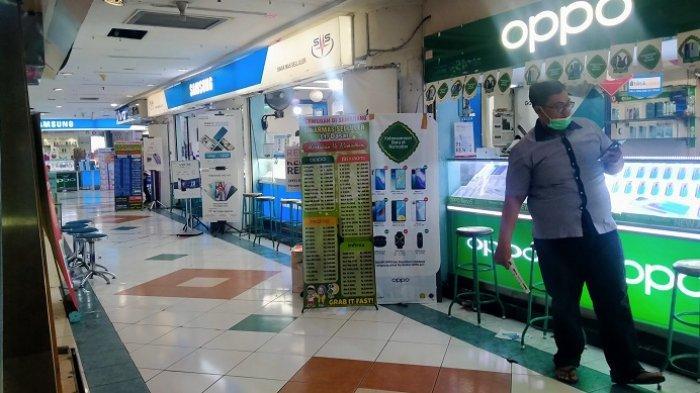 Penjualan Ponsel di Plaza Simpanglima Semarang Masih Lesu, Pengaruh Syarat Pengunjung Wajib Vaksin