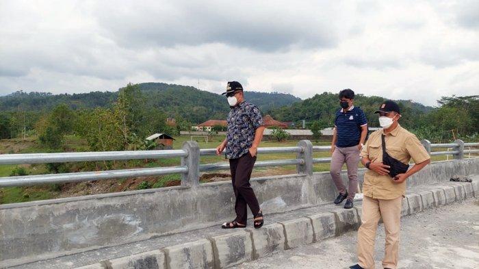 Sudah Tahap Finishing, Jembatan Merah Putih Kebumen Diresmikan Akhir Tahun Ini