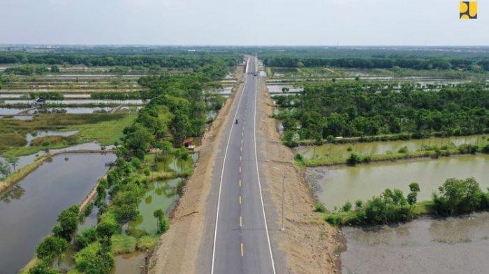 Jalan Lingkar Brebes-Tegal Telah Selesai, Dibangun di Atas Struktur Rawa, Panjangnya 17,4 Kilometer