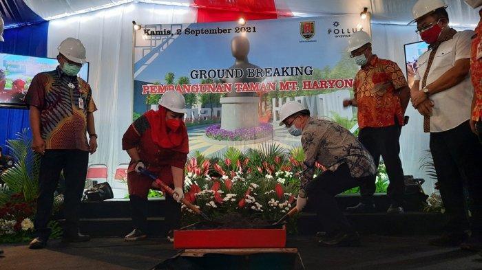 Taman MT Haryono Semarang Mulai Dibangun, CSR PT Cakrawala Sakti Kencana, Nilai Rp 792 Juta