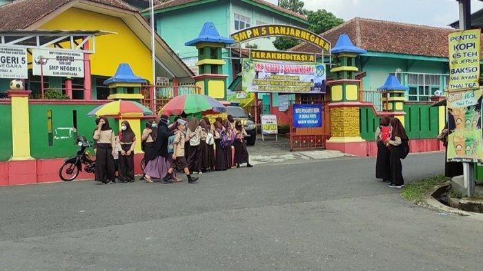 Sejak Awal Juni di Banjarnegara, Semua SD dan SMP Mulai Laksanakan Pembelajaran Tatap Muka