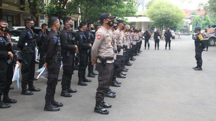 40 Personel Brimob dari Mabes Polri Diterjunkan ke Pati, Bantu Penanganan Covid-19