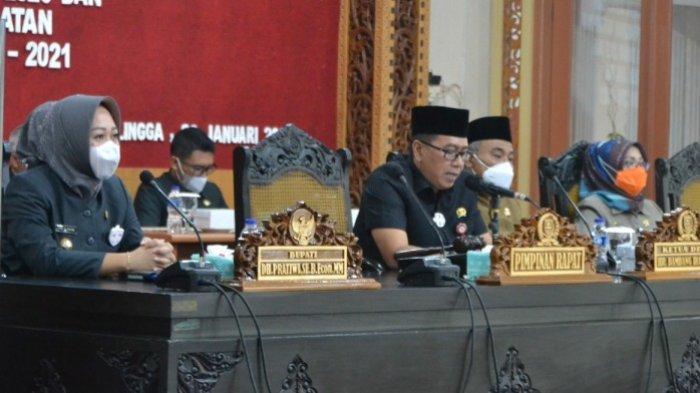 Hasil Pilkada Diparipurnakan, DPRD Purbalingga Kirim Usulan Pelantikan Tiwi-Dono ke Kemendagri