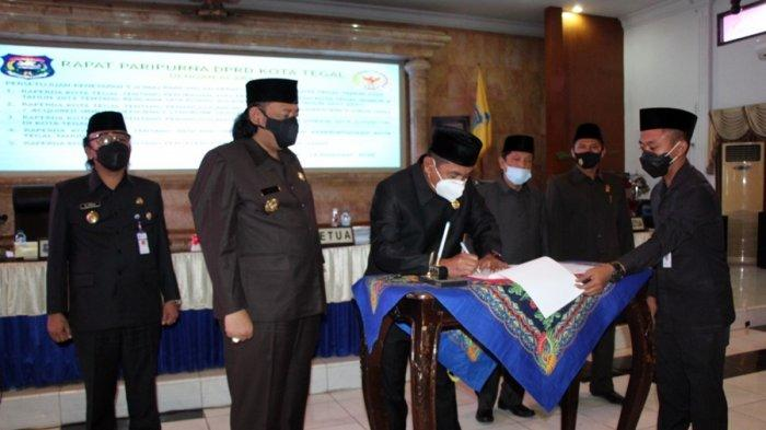 DPRD Setujui Lima Raperda Menjadi Perda Kota Tegal, Berikut Data Lengkapnya