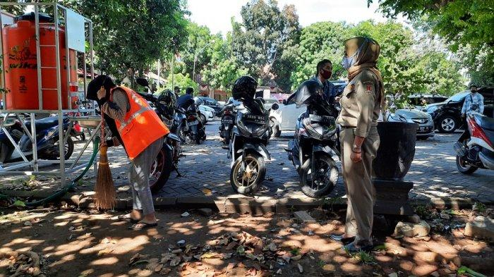 Kesadaran Pakai Masker Masih Rendah di Wilayah Pinggiran, Sejam Ada 65 Orang Terjaring di Semarang