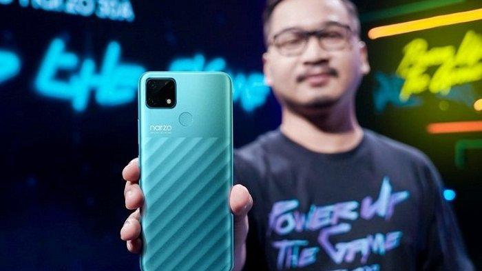 Cocok bagi Gamer, Ponsel Realme Narzo 30A Dibanderol Tak Sampai Rp 2 Juta