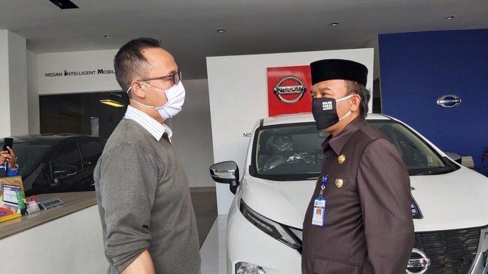 Giliran Enam Diler Mobil di Kota Tegal Didatangi Jumadi, Cek Kesiapan Relawan Mandiri Covid-19