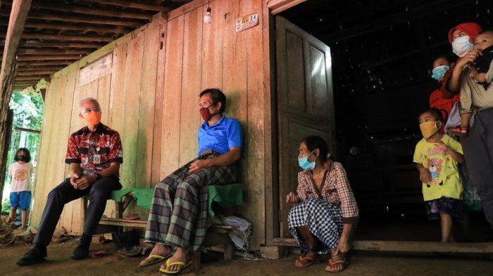 Mimpi Purmanto Renovasi Rumah Akhirnya Terwujud, Ganjar Telepon Kepala Disperakim Jateng