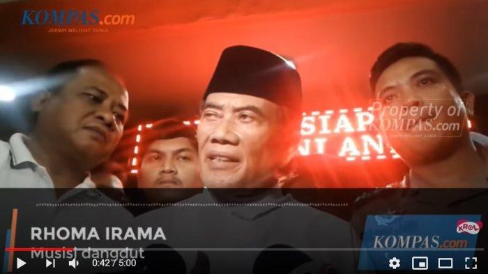 Rhoma Irama akan Diperiksa Polisi Seusai Tampil di Acara Khitanan, Begini Klarifikasi Raja Dangdut