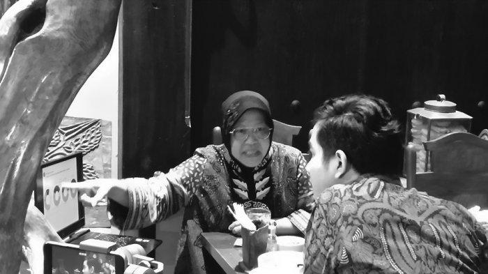 Arahan Ketum PDIP, Gibran Ketemu Risma di Warung Pecel Solo, Ngorek Program Wali Kota Surabaya