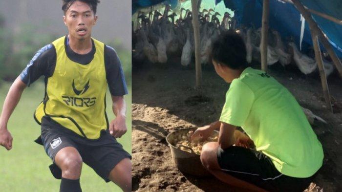 Riyan Ardiansyah Jadi Peternak Bebek, Kesibukan Bek Sayap PSIS Semarang Saat Ini
