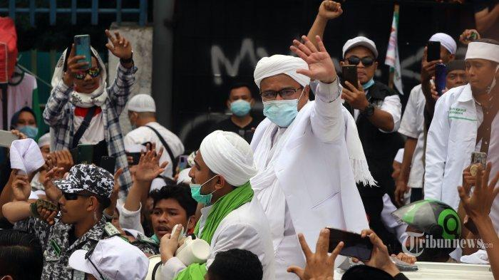 Kapolri Copot 2 Kapolda dan 2 Kapolres Terkait Kerumunan Massa yang Melibatkan Rizieq Shihab