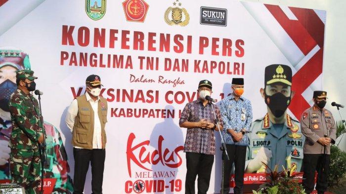 Posko PPKM Mikro Kecamatan Bae Kudus Ditengok Panglima TNI dan Kapolri, Bakal Dibawa ke Madura