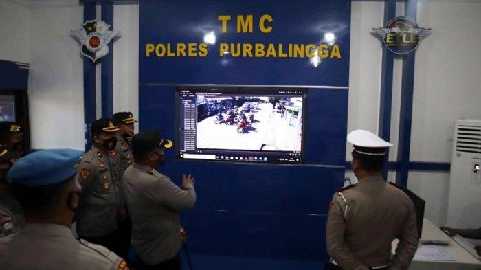 Ruang TMC Polres Purbalingga Sudah Siap Digunakan, Permudah Pemantauan Sistem Tilang Elektronik