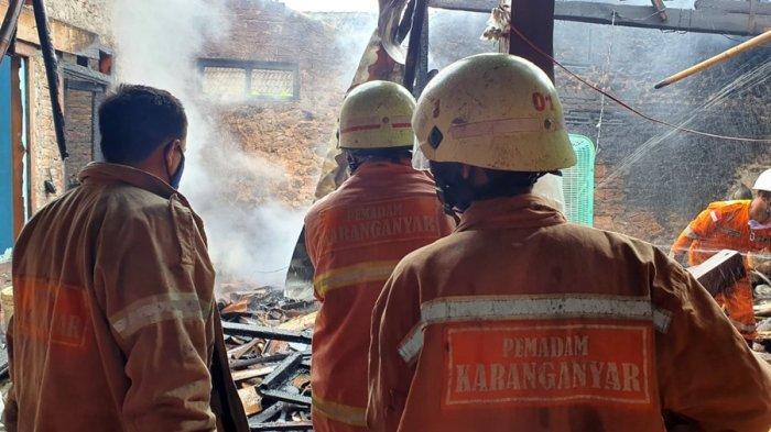 Sertifikat Hingga BPKB Menjadi Abu, Rumah Terbakar di Karanganyar, Pemilik Lagi di Rumah Tetangga