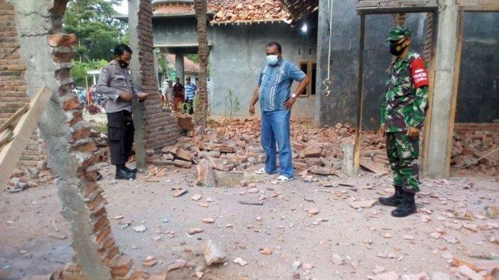 Dua Rumah Hancur Akibat Ledakan Petasan, Kejadian di Gandrungmangu Cilacap