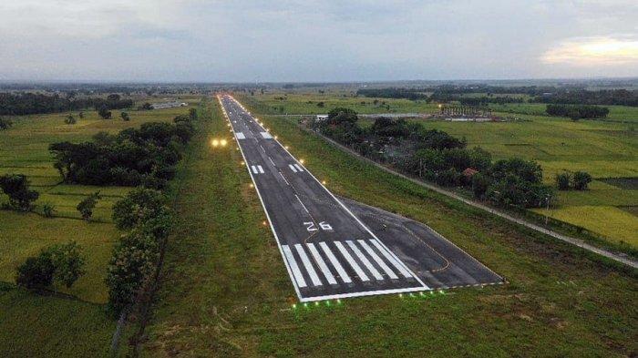 Panjang Runway Bandara Ngloram Cepu Ditambah 100 Meter, Pemkab Blora: Proses Pembebasan Lahan