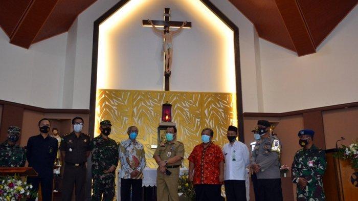 Begini Rencana Penerapan Protokol Kesehatan Ibadah Natal di Gereja Purbalingga