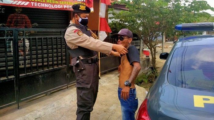 Jaga Keamanan Wilayah, Samapta Polresta Banyumas Gelar Operasi Preman