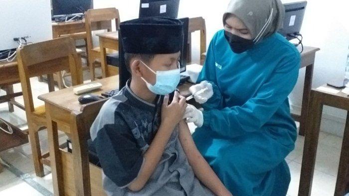 Vaksinasi Dosis Dua Capai 100%, Ponpes Tanbihul Ghofilin Banjarnegara Siap Gelar PTM Penuh