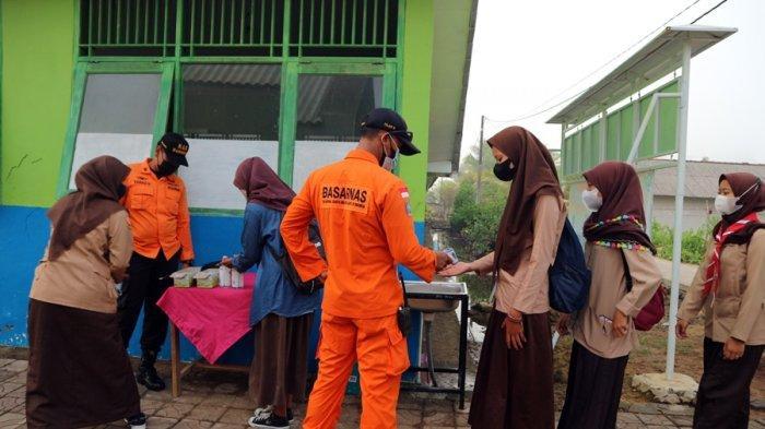 SAR Goes to School, Basarnas Sambangi SMAN 1 Kampung Laut Cilacap, Ini Kegiatannya