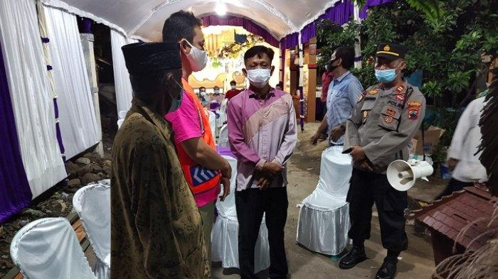 Langgar Protokol Kesehatan, Resepsi Pernikahan di Tiga Tempat di Jekulo Kudus Dibubarkan