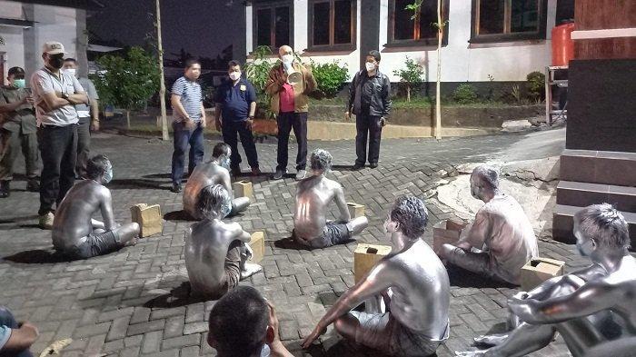 29 PGOT Terjaring Razia Satpol PP Kota Semarang, Pengamen Manusia Silver Mendominasi