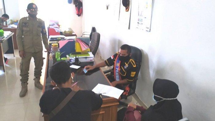 Tepergok Bermesraan di Alun-alun Karanganyar, Sepasang Pelajar Digiring ke Kantor Satpol PP