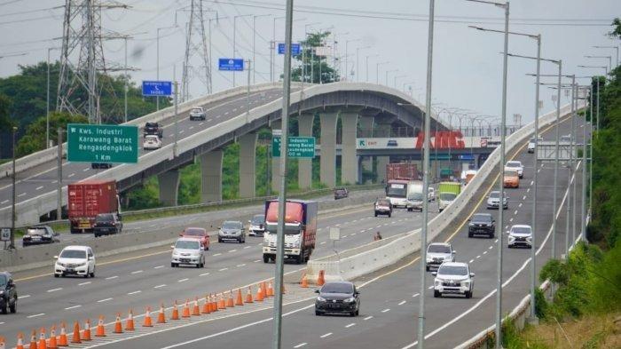 Tol Jakarta Cikampek Disekat di KM 31 Tambun Mulai Kamis Dini Hari, Antisipasi Pemudik Nekat