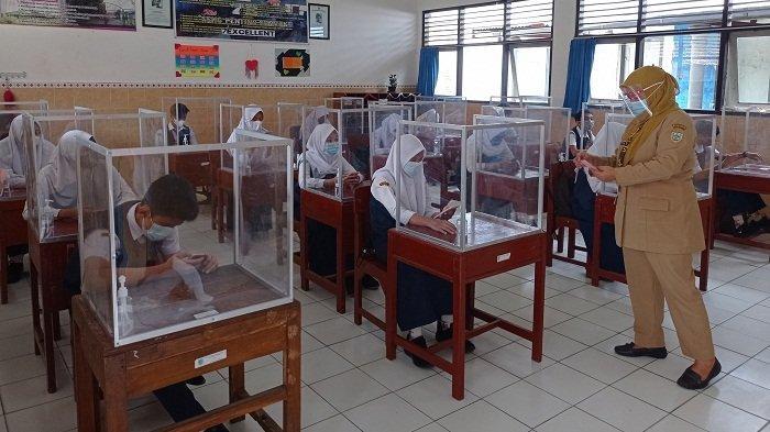 Uji Coba PTM Dinilai Berhasil, SMP Negeri 2 Salatiga Putuskan Menggelar UAS secara Tatap Muka