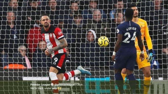 Hasil Liga Inggris, Spurs Takluk dari Southampton, Mourinho Dapat Kartu Kuning