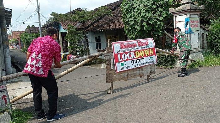 Kasus Covid Melonjak, 9 RT di Kabupaten Semarang Di-lockdown
