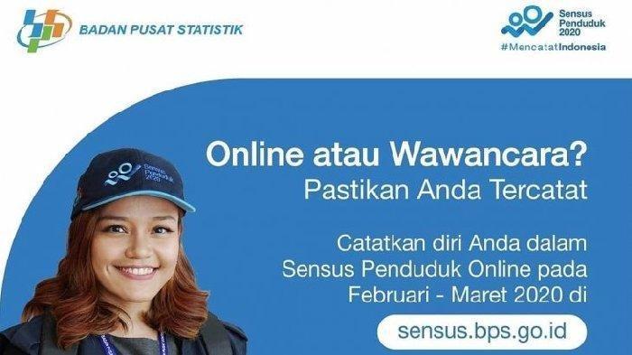 Sensus Penduduk Online 2020 Dimulai Hari Ini, Yuk Isi Mandiri, Begini Caranya!