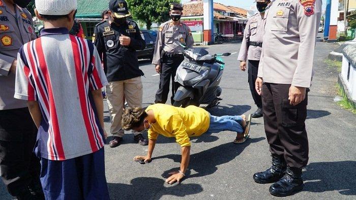 Tim Gabungan Patroli di Tempat Wisata di Cilacap, Masih Ada Warga Tak Pakai Masker