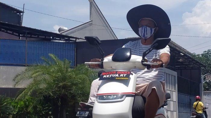 Sempat Bikin Viral di Karanganyar, Begini Cerita Candra Gunakan Motor Dinas Ketua RT Colomadu