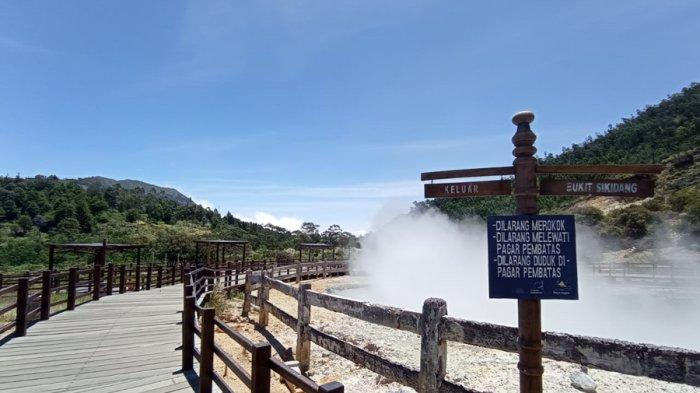 Dampak Status PPKM Banjarnegara Naik Level III, Kawasan Dieng Kembali Ditutup, UMKM Makin Lesu