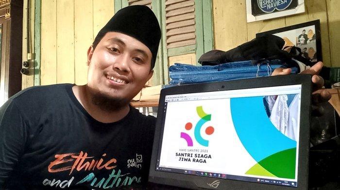 Shofa Merasa Mirip Bandung Bondowoso, Cuma Dijatah Semalam Bikin Logo Hari Santri Nasional